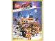 Book No: b19stk01de  Name: Sticker Album, The LEGO Movie 2 (German)