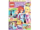 Book No: mag2015frnd10de  Name: Lego Magazine Friends 2015 Issue 10 (German)