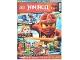 Book No: mag2015njo01de  Name: Lego Magazine Ninjago 2015 Issue 1 (German)