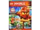 Book No: mag2015njo01pl  Name: Lego Magazine Ninjago 2015 Issue 1 (Polish)