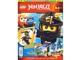 Book No: mag2015njo03pl  Name: Lego Magazine Ninjago 2015 Issue 3 (Polish)