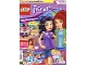 Book No: mag2016frnd08pl  Name: Lego Magazine Friends 2016 Issue 8 (Polish)