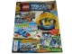 Book No: mag2017nex10pl  Name: Lego Magazine Nexo Knights 2017 Issue 10 (Polish)