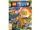 Book No: mag2018nex02pl  Name: Lego Magazine Nexo Knights 2018 Issue 2 (Polish)