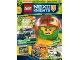 Book No: mag2018nex04nl  Name: LEGO Magazine Nexo Knights 2018 Issue 4 (Dutch)