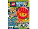 Book No: mag2018nex07nl  Name: LEGO Magazine Nexo Knights 2018 Issue 7 (Dutch)