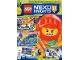 Book No: mag2018nex07pl  Name: Lego Magazine Nexo Knights 2018 Issue 7 (Polish)