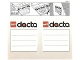 Gear No: 198353  Name: Sticker Sheet for Storage Box, Dacta