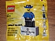 Gear No: 2855044  Name: Magnet Set, Minifigure Cavalry Colonel - with 2 x 4 Brick Base (Bricktober Week 2) polybag