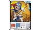 Gear No: 4612951  Name: Ninjago Masters of Spinjitzu Deck #1 Game Card 6 - Krazi - International Version