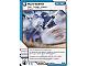 Gear No: 4612954  Name: Ninjago Masters of Spinjitzu Deck #1 Game Card 33 - Hurricane - International Version
