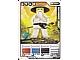 Gear No: 4612956  Name: Ninjago Masters of Spinjitzu Deck #1 Game Card 16 - Sensei Wu (White Outfit) - International Version