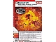 Gear No: 4617229  Name: Ninjago Masters of Spinjitzu Deck #1 Game Card 29 - Backdraft - International Version