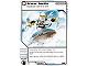 Gear No: 4621832  Name: Ninjago Masters of Spinjitzu Deck #1 Game Card 54 - Snow Surfin' - North American Version