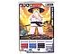 Gear No: 4621849  Name: Ninjago Masters of Spinjitzu Deck #1 Game Card 16 - Sensei Wu (White Outfit) - North American Version