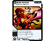 Gear No: 4631395  Name: Ninjago Masters of Spinjitzu Deck #1 Game Card 77 - Gold Smash - North American Version