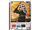 Gear No: 4643427  Name: Ninjago Masters of Spinjitzu Deck #2 Game Card 15 - Kendo Cole - International Version