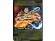 Gear No: 4643429  Name: Ninjago Masters of Spinjitzu Deck #2 Game Card 73 - Flash 'n' Burn - International Version