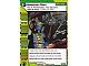 Gear No: 4643431  Name: Ninjago Masters of Spinjitzu Deck #2 Game Card 122 - Backup Plan - International Version