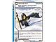 Gear No: 4643434  Name: Ninjago Masters of Spinjitzu Deck #2 Game Card 101- White Out - International Version