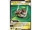Gear No: 4643436  Name: Ninjago Masters of Spinjitzu Deck #2 Game Card 88 - Whip Attack - International Version
