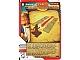 Gear No: 4643478  Name: Ninjago Masters of Spinjitzu Deck #2 Game Card 31 - Gates of Fire! - International Version