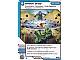 Gear No: 4643480  Name: Ninjago Masters of Spinjitzu Deck #2 Game Card 69 - Shock Drop - International Version