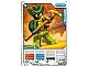 Gear No: 4643502  Name: Ninjago Masters of Spinjitzu Deck #2 Game Card 12 - Spitta - International Version