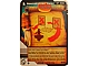 Gear No: 4643538  Name: Ninjago Masters of Spinjitzu Deck #2 Game Card 84 - Roundhouse Kick! - International Version