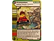 Gear No: 4643540  Name: Ninjago Masters of Spinjitzu Deck #2 Game Card 117 - Premonition - International Version