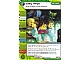 Gear No: 4643624  Name: Ninjago Masters of Spinjitzu Deck #2 Game Card 120 - Lazy Ninja - North American Version