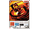 Gear No: 4643651  Name: Ninjago Masters of Spinjitzu Deck #2 Game Card 2 - Kai ZX - North American Version