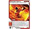 Gear No: 4643653  Name: Ninjago Masters of Spinjitzu Deck #2 Game Card 27 - Cinder Storm - North American Version