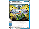 Gear No: 4643654  Name: Ninjago Masters of Spinjitzu Deck #2 Game Card 69 - Shock Drop - North American Version