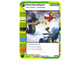 Gear No: 4643665  Name: Ninjago Masters of Spinjitzu Deck #2 Game Card 123 - Counterattack - North American Version