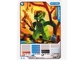 Gear No: 4643678  Name: Ninjago Masters of Spinjitzu Deck #2 Game Card 13 - Lizaru - North American Version