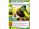 Gear No: 4643684  Name: Ninjago Masters of Spinjitzu Deck #2 Game Card 116 - Use Surroundings - North American Version