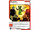 Gear No: 4643687  Name: Ninjago Masters of Spinjitzu Deck #2 Game Card 45 - Assist - North American Version