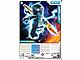 Gear No: 4643688  Name: Ninjago Masters of Spinjitzu Deck #2 Game Card 10 - NRG Jay - North American Version