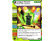 Gear No: 4643710  Name: Ninjago Masters of Spinjitzu Deck #2 Game Card 121 - Unique Power - North American Version