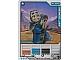 Gear No: 5000036  Name: Ninjago Masters of Spinjitzu Deck #2 Game Card *5 - Kendo Jay (3D Lenticular Card)