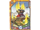 Gear No: 6073191  Name: Legends of Chima Deck #3 Game Card 302 - Laval