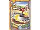 Gear No: 6073212  Name: Legends of Chima Deck #3 Game Card 317 - Worriz