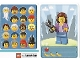 Gear No: 6187199  Name: Community Set 45022 Game Card 19 - Hairdresser