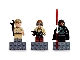 Gear No: 852551  Name: Magnet Set, Minifigures SW (3) - Anakin Skywalker, Darth Maul, Naboo Fighter Pilot - with 2 x 4 Brick Bases blister pack