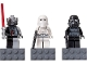 Gear No: 852715  Name: Magnet Set, Minifigures SW (3) - Darth Vader, Snowtrooper, Shadow Trooper - with 2 x 4 Brick Bases blister pack