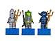 Gear No: 852777  Name: Magnet Set, Minifigures Atlantis (3) - Lance Spears, Manta Warrior, Shark Warrior blister pack