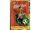 Gear No: Bagtag  Name: Sports Bag Tag, Lego Soccer