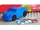 Gear No: GMRacer1  Name: General Mills Racer Car 1 - Blue on Blue on Black - Knobby Wheels 4 x 4