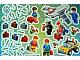 Gear No: Gstk146  Name: Sticker Sheet, Activity Book AB042009NL